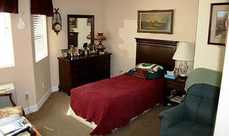 Arbor Rose Senior Care bedroom