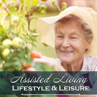 Assisted living enrichment opportunities at Cascade Valley Senior Living