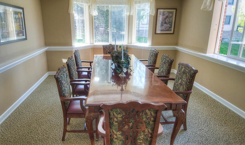 Dining Room at Caley Ridge Assisted Living