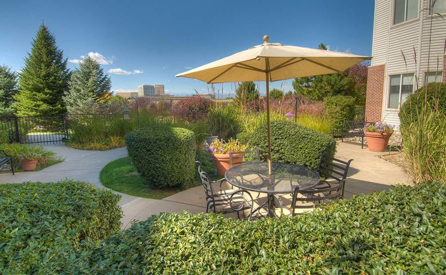 Living & Garden englewood, co senior living | caley ridge assisted living