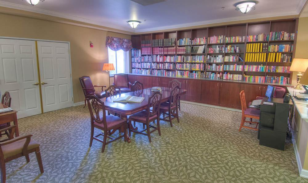Library at Caley Ridge Assisted Living