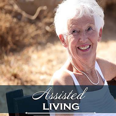 Assisted living resident at Caliche Senior Living