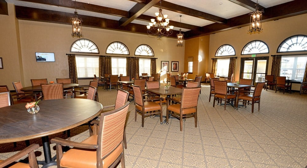 Dining Room at Caliche Senior Living in Casa Grande.