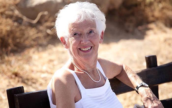 Resident enjoying Eagle Lake Village Senior Living assisted living