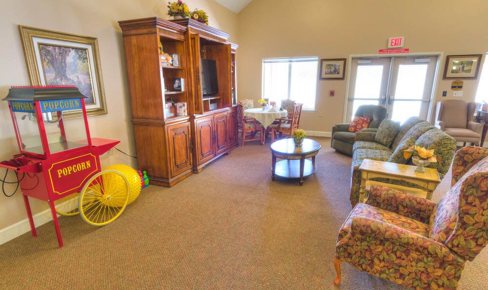 Community center at Eagle Lake Village Senior Living in Susanville.