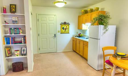 Kitchen at senior living in Susanville