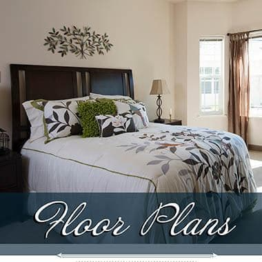 Assisted living floor plans at Glenwood Place Senior Living