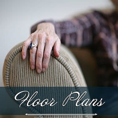 Assisted living floor plans at Harbour Pointe Senior Living