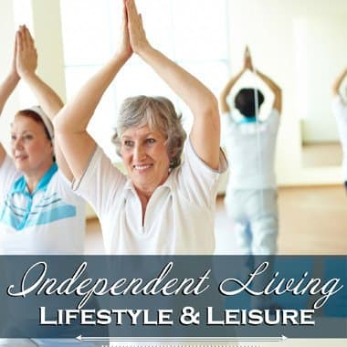 Independent living enrichment opportunities at Harbour Pointe Senior Living