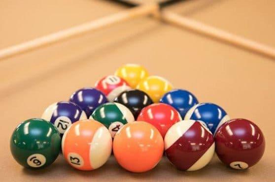 Billiard Room at Joshua Springs Senior Living