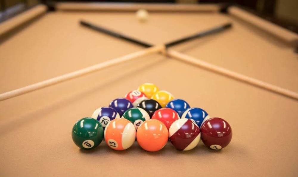 Billiards Table at Joshua Springs Senior Living in Bullhead City.