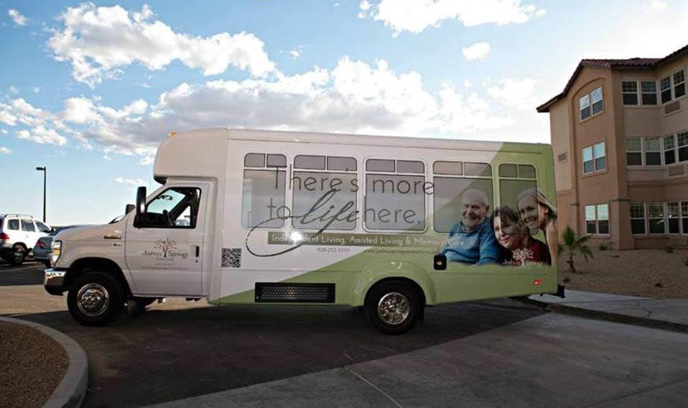Community Transportatio At Joshua Springs Senior Living in Bullhead City.
