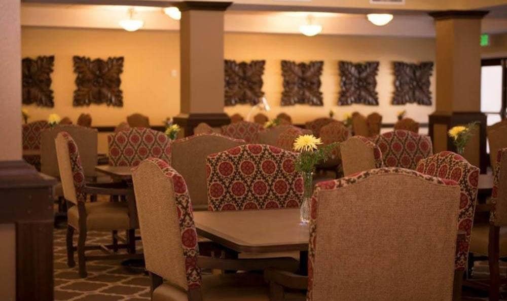 Welcoming Dining Room at Joshua Springs Senior Living in Bullhead City