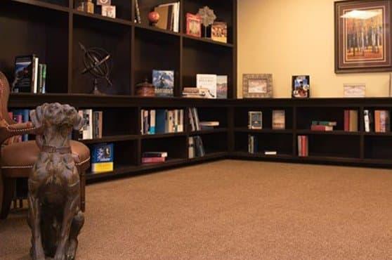 Library at Joshua Springs Senior Living
