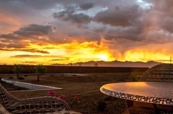 Wonderful Joshua Springs Senior Living sunset