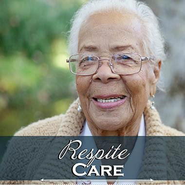 Happy Respite Care Resident at Mansion at Waterford Assisted Living.