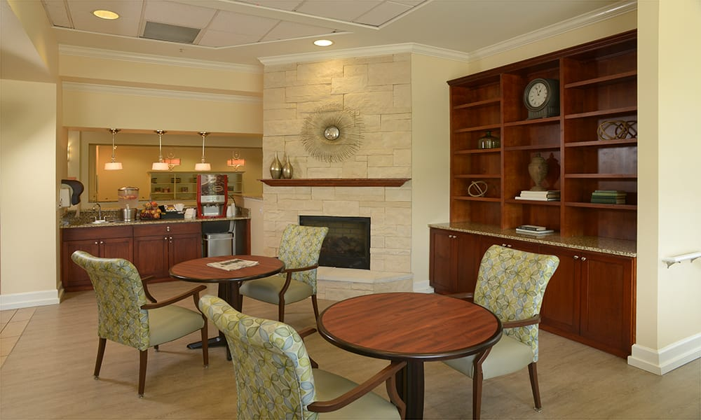 Pull up a chair at Maple Leaf Assisted Living & Memory Care  in Seattle.