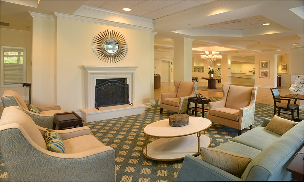 Maple Leaf Assisted Living & Memory Care  fireplace