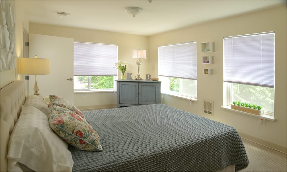 Maple Leaf Assisted Living & Memory Care private bedroom in Seattle.