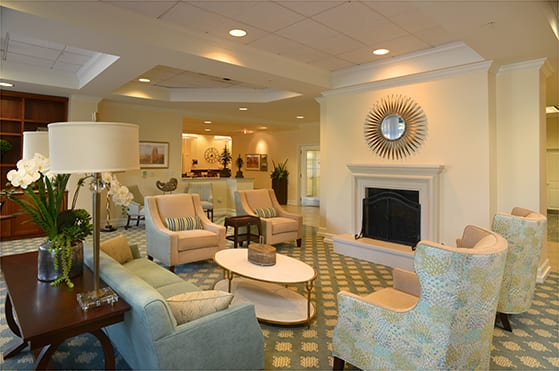 Gorgeous sitting area at Maple Leaf Assisted Living & Memory Care in Seattle