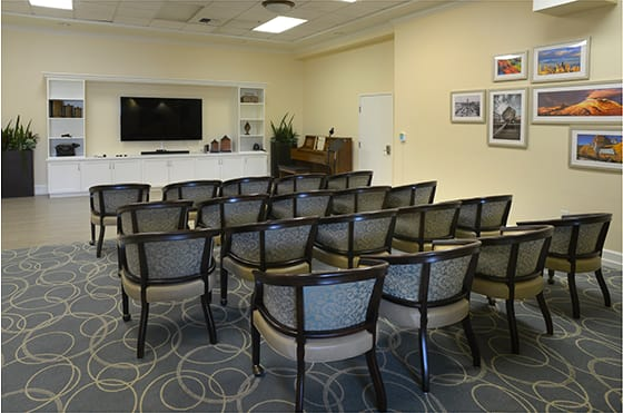 Theater at  Maple Leaf Assisted Living & Memory Care