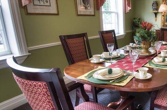 Private Dining at Pheasant Ridge Senior Living