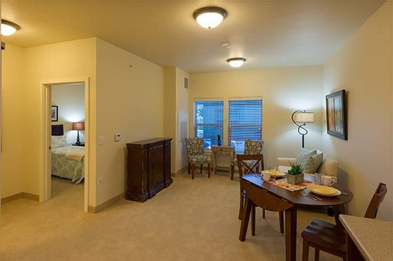 Apartment at Summit Senior Living in Salt Lake City