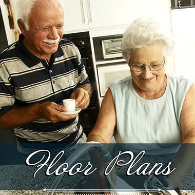 Assisted living floor plans at Summit Senior Living