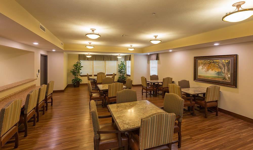 Dining Room At Summit Senior Living.