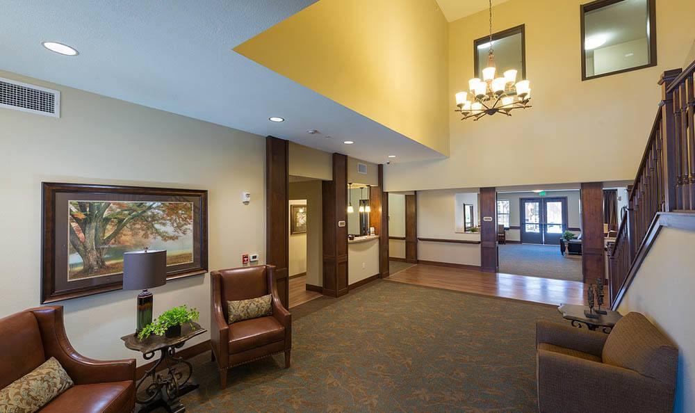 Summit Senior Living Welcoming Lobby