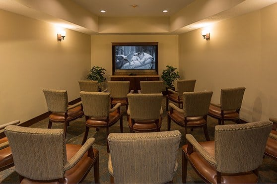 Theater at Summit Senior Living in Salt Lake City