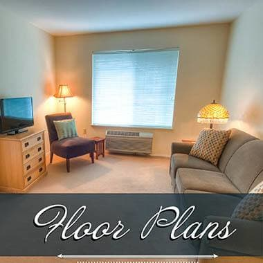 independent living floor plans at Keystone Villa at Ephrata