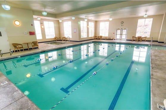 Pool at Bishop Place Senior Living in Pullman