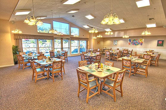 living room restaurant chandler senior living in anacortes wa chandler s square 17441