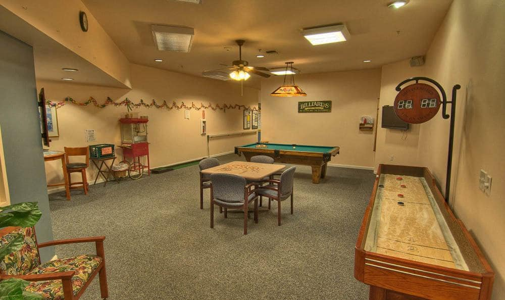 Recreation Center At Chandler's Square Retirement Community.