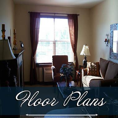 Assisted living floor plans at Flagstone Senior Living