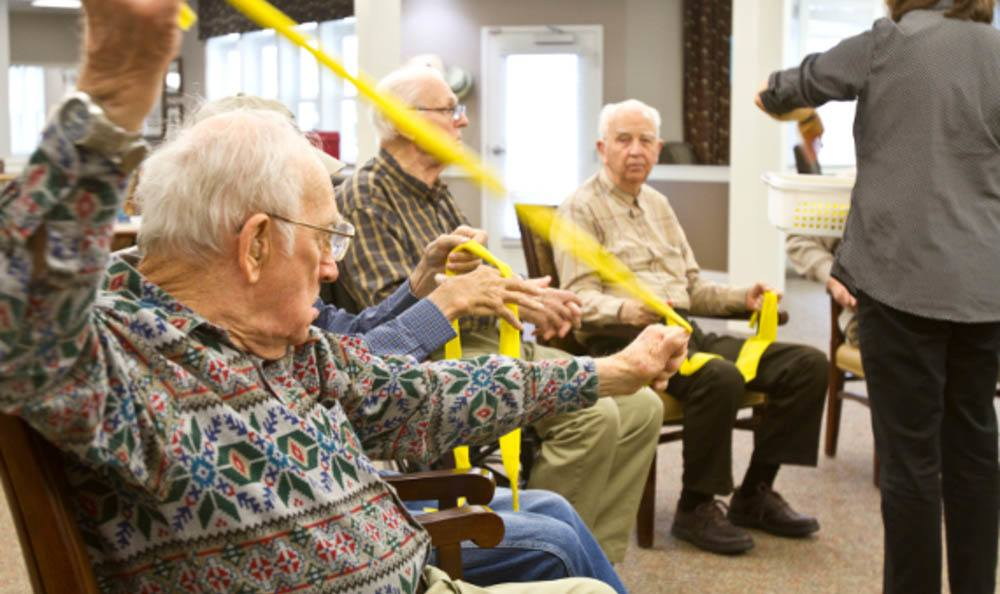Residents Enjoying Activities at Lighthouse Memory Care