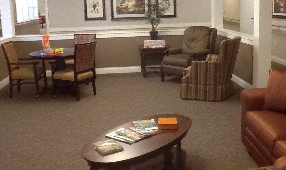 Game and Activity Room at Senior-Living in Lighthouse Memory Care