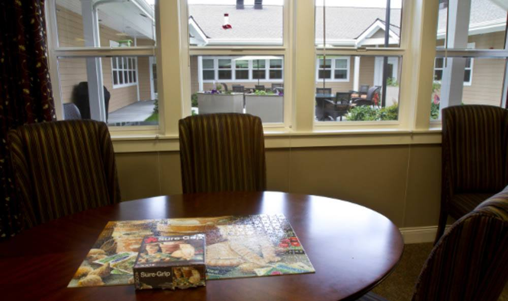 Game Table at Lighthouse Memory Care