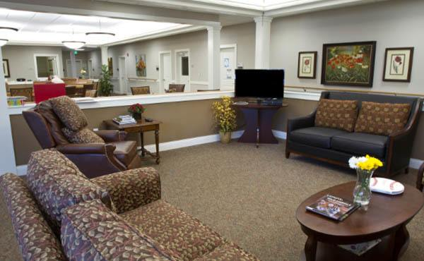 Lighthouse Memory Care Sitting Area in Anacortes