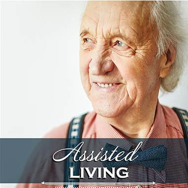 Assisted living resident at McLoughlin Place Senior Living