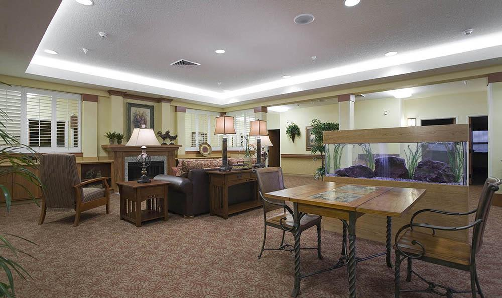 Clubhouse At McLoughlin Place Senior Living in Oregon City.
