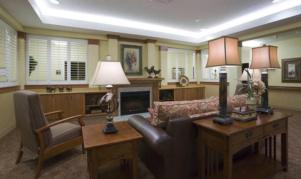 McLoughlin Place Senior Living Comfortable Lobby in Oregon City.