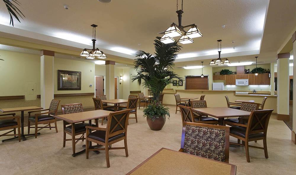 McLoughlin Place Senior Living Dining Room in Oregon City.