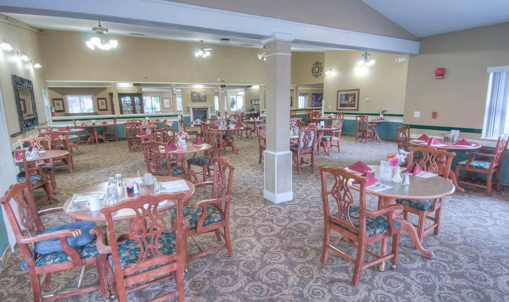 Dining Area at Northglenn Heights Assisted Living in Northglenn.