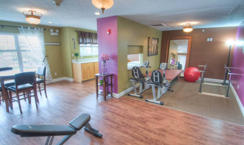 Exercise Room At Northglenn Heights Assisted Living.