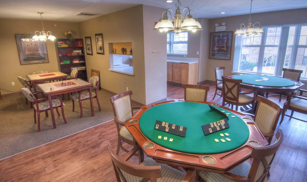 Northglenn Heights Assisted Living Poker Table in Northglenn.