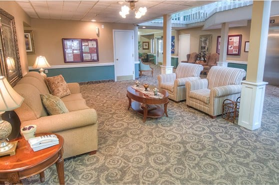 Sitting area at Northglenn Heights Assisted Living