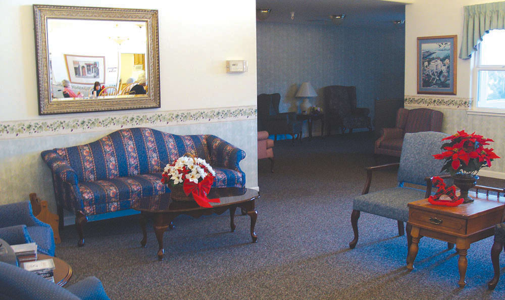 Living Room in Senior-Living at Oak Terrace Memory Care