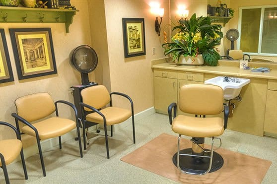 Sierra Ridge Memory Care Salon in  Auburn